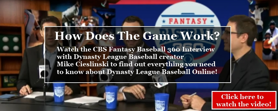 Dynasty League Fantasy Baseball